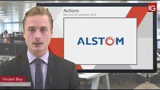 ALSTOM Bourse - Action Alstom, changement de recommandation - IG 28.11.2018