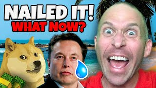 DOGECOIN DOGECOIN DUMPED AFTER ELON MUSK'S SNL SKIT EXACTLY AS PREDICTED!!!!!!! HERE'S WHAT TO DO NEXT!!!!!