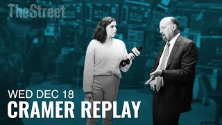 LILLY AND CO Jim Cramer Weighs in on Eli Lilly and Elizabeth Warren, Boeing's CEO and FedEx's Earnings
