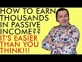 HOW YOU CAN EARN THOUSANDS OF DOLLARS A MONTH IN PASSIVE INCOME WITH CRYPTOCURRENCY!!! (Explained)