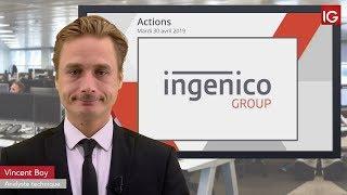 INGENICO GROUP Bourse   INGENICO, à nouveau soutenu   IG 30 04 2019
