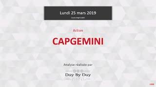 CAPGEMINI CAPGEMINI : double sommet validé - Flash Analyse IG 25.03.2019