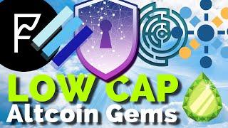 BLUZELLE 💎 5 Low Cap Altcoin Gems: Safe Haven, Frontier, Linear Finance, Effect.ai, Bluzelle