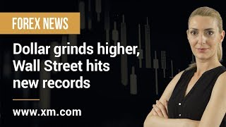 DOW JONES INDUSTRIAL AVERAGE Forex News: 20/01/2020 - Dollar grinds higher, Wall Street hits new records