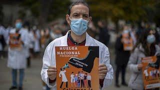 Covid-Proteste und Streiks im Gesundheitswesen