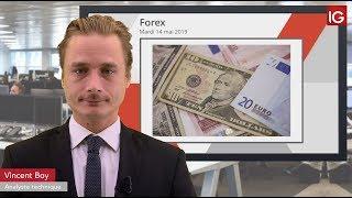 EUR/USD Bourse   EURUSD, le dollar sous pression   IG 14 05 2019