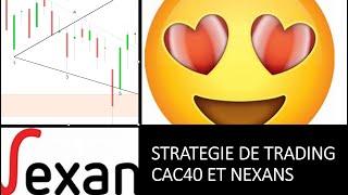 NEXANS 🦕👉Stratégie de trading CAC40 et NEXANS (15/07/21)