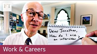 The careers adviser — how to ace an interview
