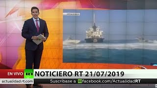 NOTICIERO RT 21/07/2019
