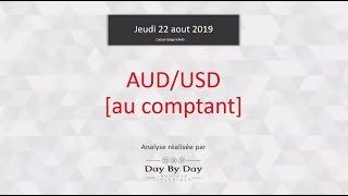USD/AUD Vente USD/AUD - Idée de trading IG 22.08.2019