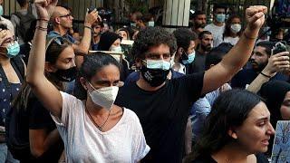 BLAST Parents of Beirut blast victim, 3, still seeking justice one year on