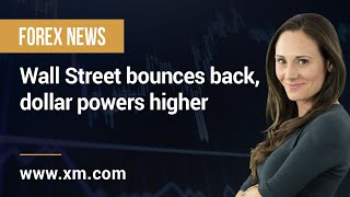 DOW JONES INDUSTRIAL AVERAGE Forex News: 21/07/2021 - Wall Street bounces back, dollar powers higher