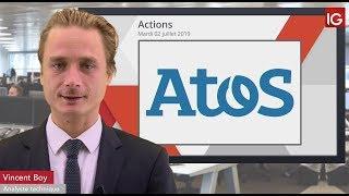 ATOS Bourse -ATOS, un intermédiaire en soutien - IG 02.07.2019