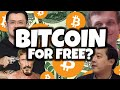 HOW TO GET BITCOIN FOR FREE... NOT CLICKBAIT!!!
