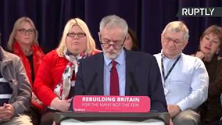 HASTINGS GRP. HOLDINGS ORD GBP0.02 LIVE: Jeremy Corbyn gives speech in Hastings after #BrexitVote & #NoConfidenceMotion