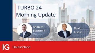 EUR/USD DAX vor Konsolidierung? Im Turbo24 Morning Update am 13.10. schauen wir zudem auf den EURUSD Forex