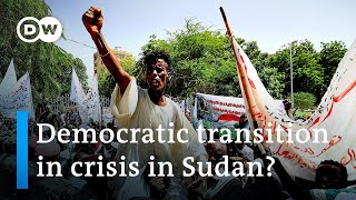 Sudan protesters demand military seize power from government | DW News