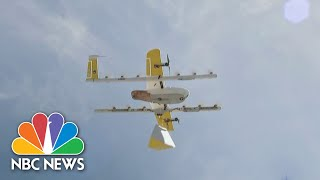 COMP SERVICES INC Breakfast Dropped Off By Drone? The Impact Of Expanding Delivery Services   NBC Nightly News