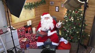 Das Rentier bleibt im Stall, der Weihnachtsmann kommt per Videoschalte