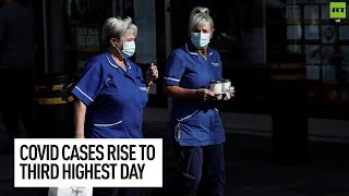 Daily Covid cases rise to THIRD highest of the pandemic!