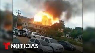 Dos carros bomba estallan en Colombia | Noticias Telemundo