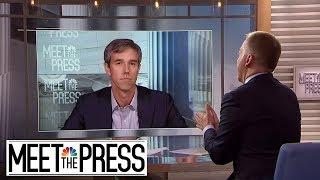 Full O'Rourke: After El Paso 'I Understood The Consequence And Cost Of Donald Trump.'
