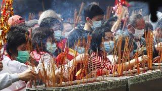 Coronavírus limita celebrações do Ano Novo Chinês