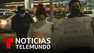La toma de poder de Joe Biden enciende la fe entre los migrantes varados en México
