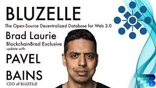 BLUZELLE Bluzelle Update | BlockchainBrad | Open Source Decentralized Database for Web 3.0 | Serverless