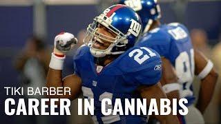 Tiki Barber's Post-NFL Career Tackling Cannabis