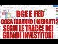 BCE e FED: Tagli dei Tassi d'Interesse e QE. Come Reagirà il Mercato del Forex? Segui i Soldi ;)