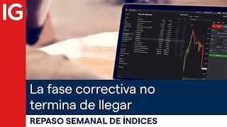 DAX30 PERF INDEX Análisis del S&P 500, el DAX, el Ibex… la fase correctiva, pero que no termina de llegar