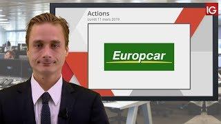 EUROPCAR MOBILITY Bourse   EUROPCAR MOBILITY, baisse d'objectif de cours d'un intermédiaire   IG 11 03 2019