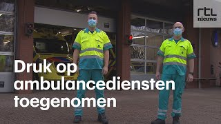 Uniek inkijkje: meekijken bij ambulancedienst in coronatijd