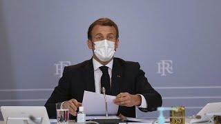 50.000 Tote: Macron verspricht vorsichtigen Ausstieg aus dem Lockdown