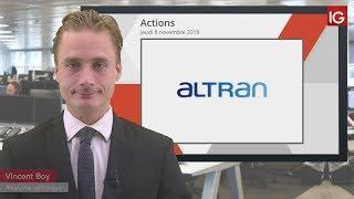 ALTRAN TECHN. Bourse - Action Altran, baisse d'objectif de cours d'un intermédiaire - IG 08.11.2018