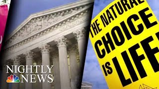 Verge Louisiana The Latest State On Verge Of Passing 'Heartbeat' Abortion Bill   NBC Nightly News