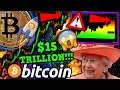 BITCOIN $15 TRILLION FLOOD!!! ALL TIME HIGH WILL BE SHATTERED!! THE QUEEN IS INTERESTED?!!!