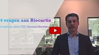 BIOCARTIS 4 vragen aan de CEO van Biocartis
