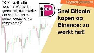 BITCOIN Snel Bitcoin met iDeal kopen op Binance: zo werkt het!