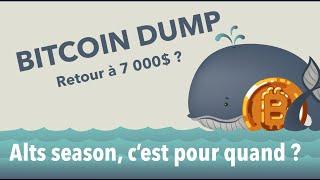 BITCOIN [ANALYSE CRYPTO] Bitcoin & Altcoins :  BTC retour à 7 000 ? | ETH, RLC, KNC, ELROND, IOST, OGN, REN.