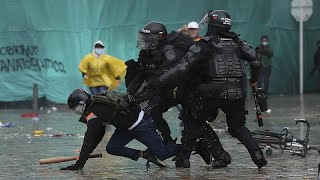 Mehr als 24 Tote - Protest in Kolumbien