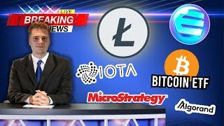 BITCOIN 📰 COIN NEWS: Enjin, IOTA, LTC, MicroStrategy, Bitcoin ETF & more!
