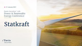 AMP LIMITED Statkraft / Pareto Securities' Power & Renewable Energy Conference