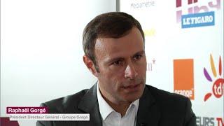 GROUPE GORGE Colloque NPA-Le Figaro 2016 : Raphaël Gorgé, GROUPE GORGE