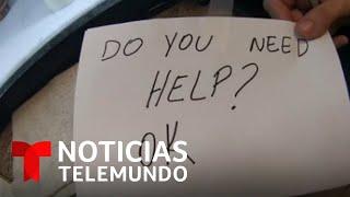 Una mesera salva a un niño del abuso de sus padres | Noticias Telemundo
