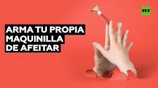 Crean una maquinilla de afeitar desechable hecha de cartón | @RT Play en Español