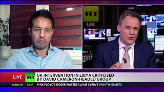UK intervention in Libya criticised by David Cameron-headed group