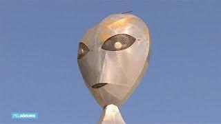 Omwonenden 'alienbasis' Area 51 bang voor stormloop  - RTL NIEUWS
