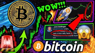 BITCOIN WOW!! BITCOIN EXPLOSIVE MOVE INCOMING! THIS IS AN INCREDIBLE BTC COINCIDENCE!!!